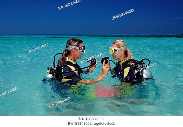 diving course on Maldives, Maldives, Indian Ocean, Meemu Atoll, Medhufushi