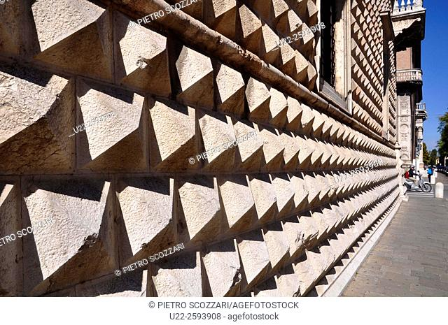 Italy, Emilia-Romagna, Ferrara, Palazzo dei...