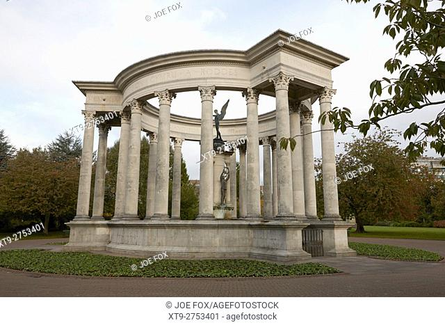 welsh national war memorial alexandra gardens cathays park Cardiff Wales United Kingdom