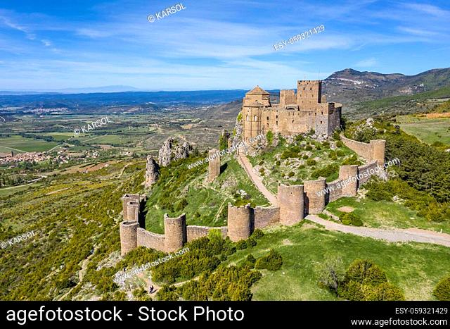 Castle of Loarre is a Romanesque Castle and Abbey located in the Aragon autonomous region of Spain. It is the oldest castles in Spain