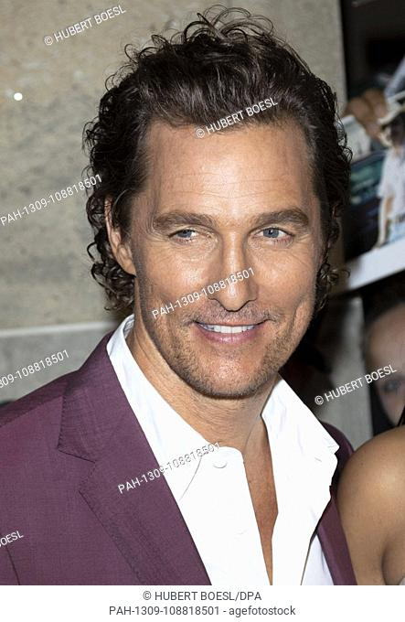 Matthew McConaughey attends the premiere of 'White Boy Rick' during the 43rd Toronto International Film Festival, tiff, at Ryerson Theatre in Toronto, Canada
