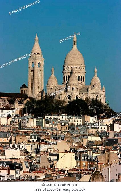 The Sacre Coeur basilica