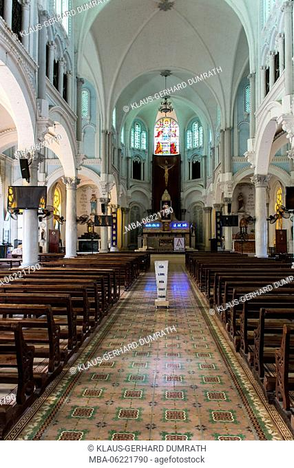 Vietnam, Cathedral of Cai Be in the Mekong Delta