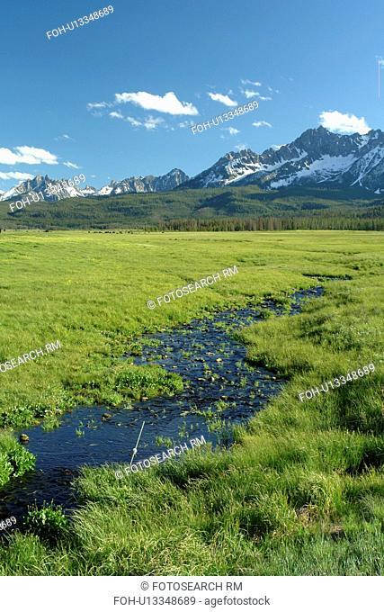 Stanley, ID, Idaho, Sawtooth National Recreation Area, Sawtooth National Forest, Sawtooth Valley, Sawtooth Mountain Range