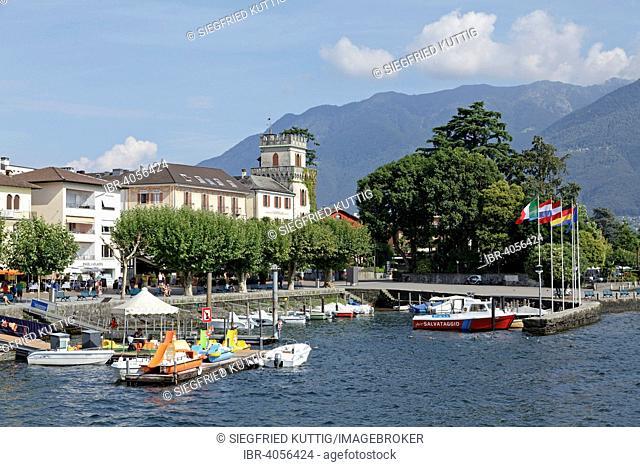 Lago Maggiore, Ascona, Canton of Ticino, Switzerland