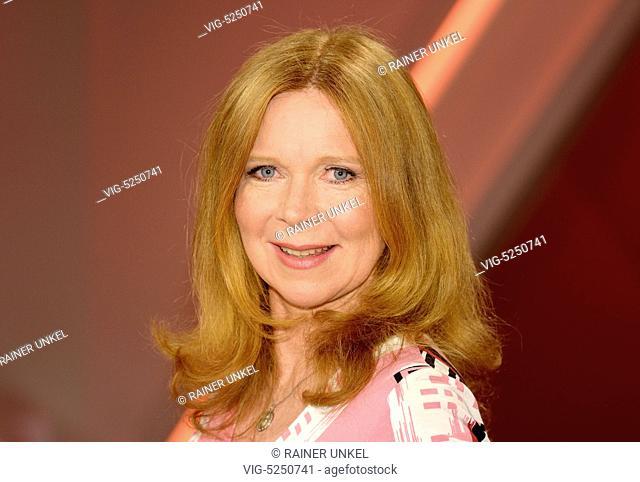 GERMANY, COLOGNE, 21.04.2015, Marion KRACHT , Actress - Cologne, Northrhine-Westfalia, Germany, 21/04/2015