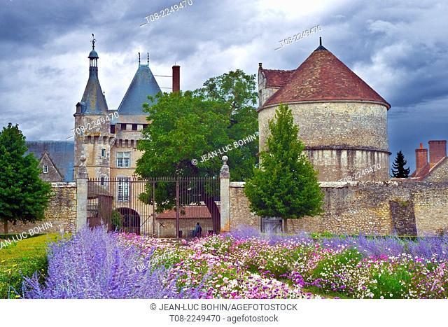 france, loire castles : talcy castle & park