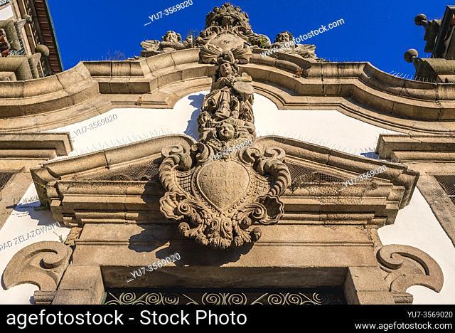 Lar De Santa Estefania (Home of Santa Estefania) building, former convent of the Carmelites in Guimaraes city in Minho Province of northern Portugal