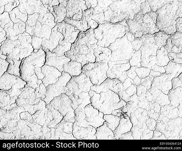 Cracks on the salt ground. Textured background for design