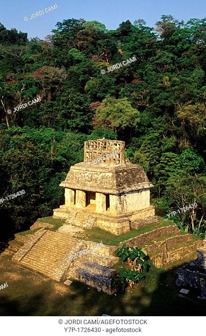 Temple of the Sun, Palenque, Chiapas, Mexico