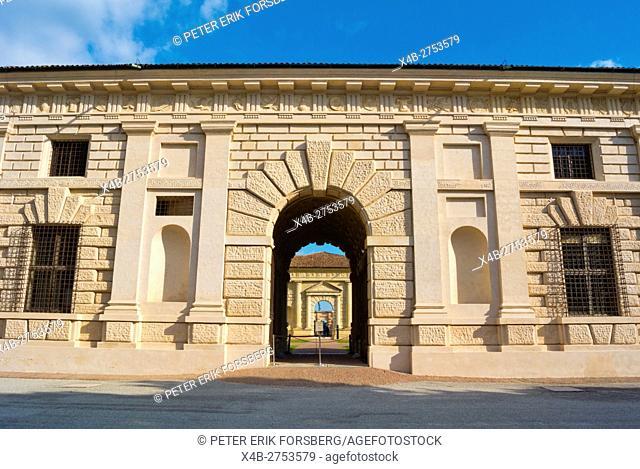 Palazzo Te, Parco del Te, Mantua, Lombardy, Italy
