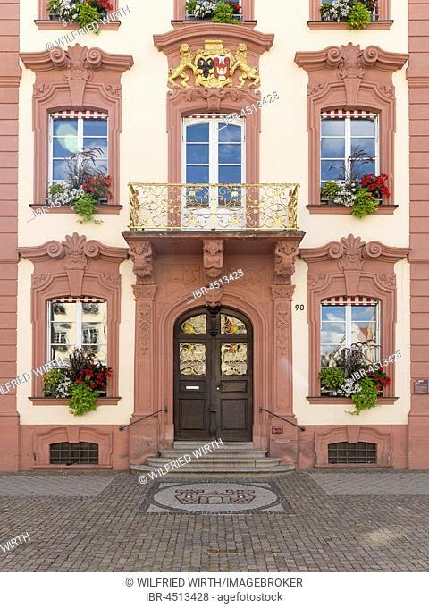 Town Hall, Offenburg, Northern Black Forest, Black Forest, Baden-Württemberg, Germany