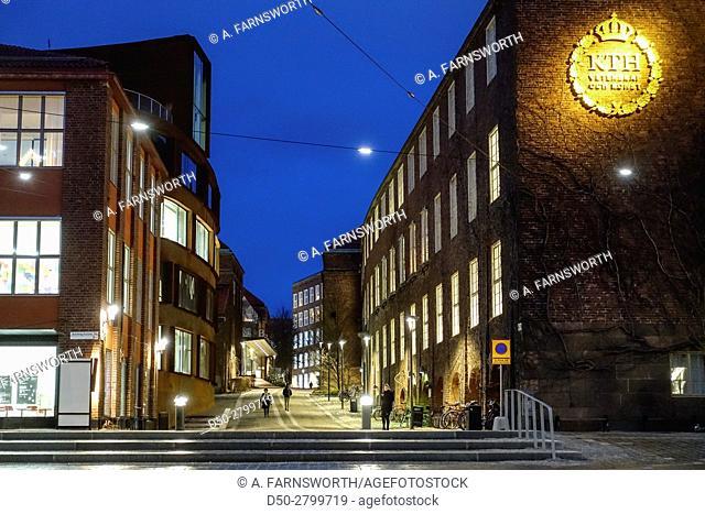 STOCKHOLM, SWEDEN Campus Royal Institute of Technology or KTH