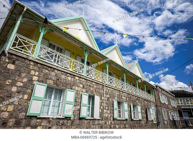 St. Kitts and Nevis, Nevis, Charlestown, Museum of Nevis History, exterior