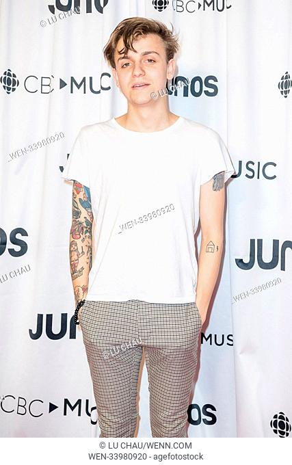 2018 JUNO Awards, held at the Rogers Arena in Vancouver, Canada. Featuring: Scott Helman Where: Vancouver, British Columbia