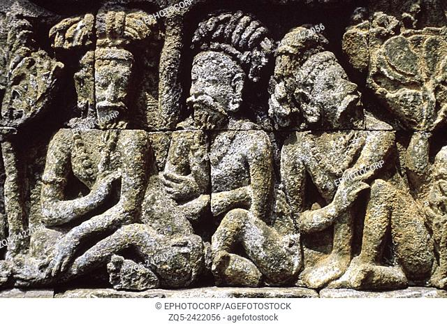 1st Gallery east upper 117. Borobudur, Indonesia