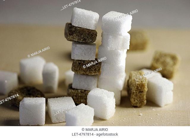 Sugar cubes  White and cane sugar  Finland