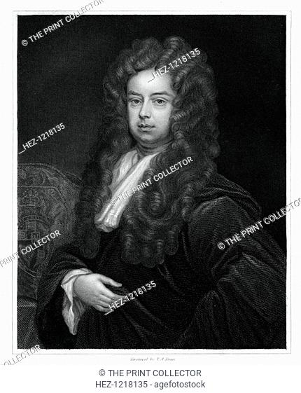 John Somers, 1st Baron Somers, Lord High Chancellor of England, (1833). Somers (1651-1716) was Lord High Chancellor of England under King William III