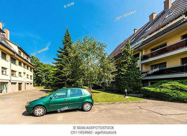 Condominium buildings Strasbourg Alsace France