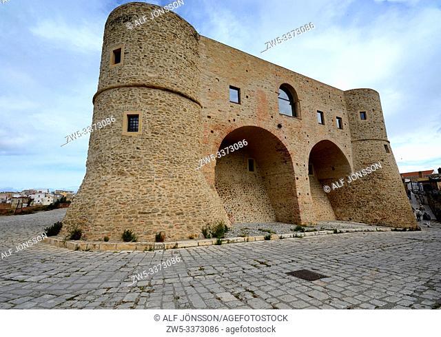 Castle in Bernalda, Matera district, Basilicata, Italy