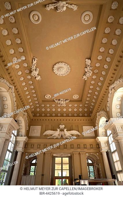 Decorative interior, Gloriette Arcade, restaurant and cafe, Schloss Schönbrunn, Schönbrunn Palace, Vienna, Austria