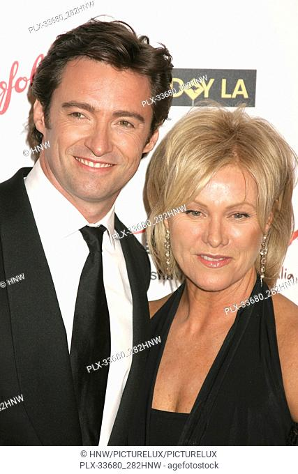 Hugh Jackman, Deborra-lee Furness 01/14/06 G'Day LA: Australia Week 2006 - Penfolds Icon Gala Dinner @ The Hollywood Palladium