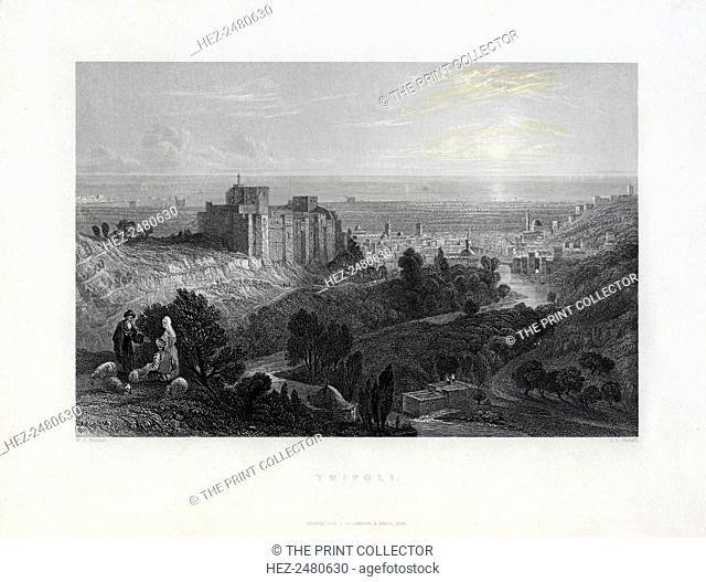 Tripoli, Lebanon, 1836