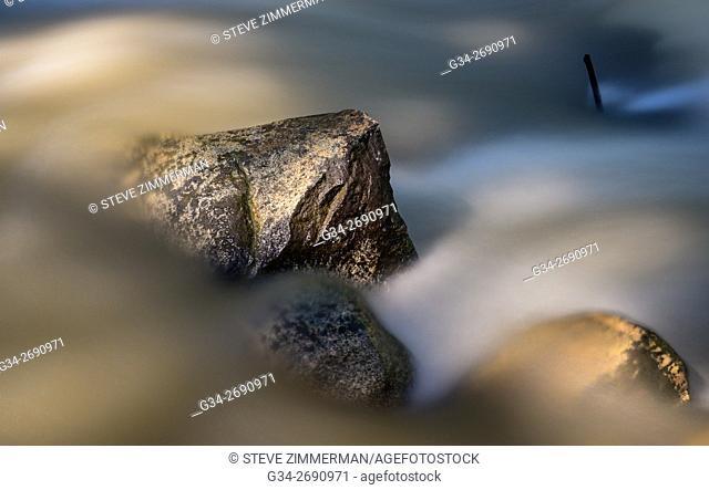 Flow Over Rock