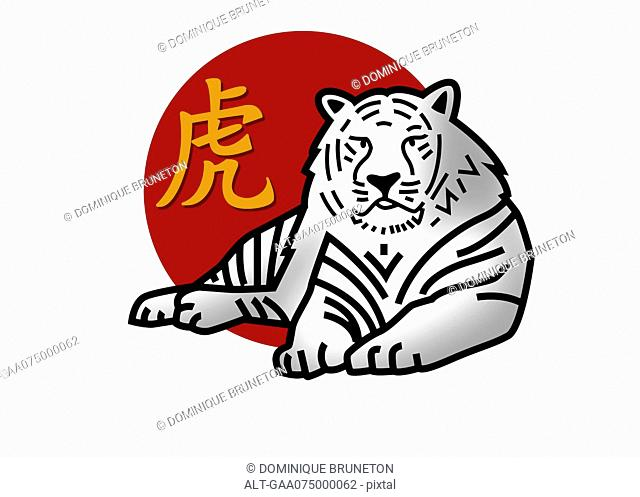 Chinese zodiac sign for year of the tiger