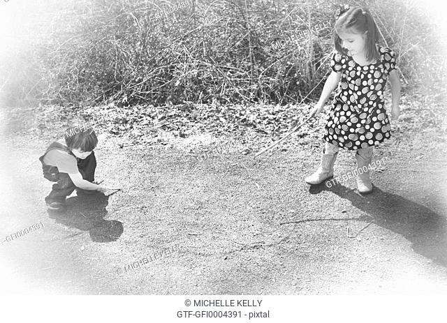 Photograph of children Playing