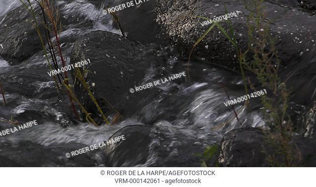 Detail of the Tugela River at Royal Natal National Park. Ukhahlamba Drakensberg Park. KwaZulu Natal. South Africa