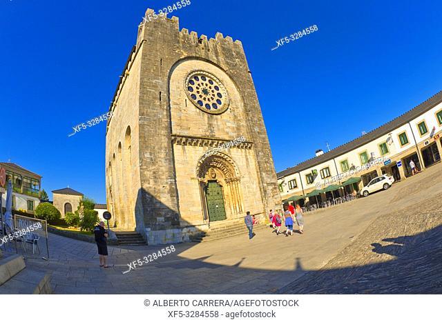 Church of San Nicolás, Church of San Juan, 12th Century Romanesque Style, Portomarín, Lugo, Galicia, Spain, Europe