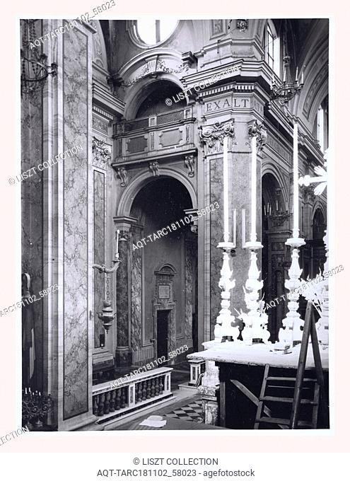 Lazio Viterbo Sutri S. Maria Assunta, Duomo, this is my Italy, the italian country of visual history, Exterior views, views of crypt columns and capitals