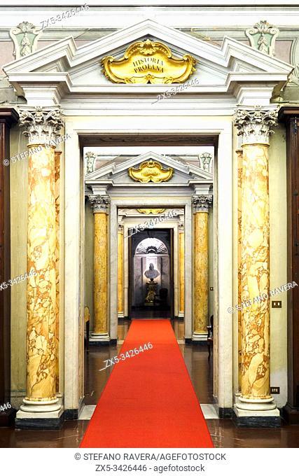 Doors in Palazzo Corsini - Rome, Italy