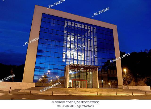 Office building in Science Park in San Sebastián Zuatzu, Guipúzcoa, Basque Country, Spain