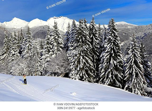 Plateau d'Agy, Saint-Sigismond, Haute-Savoie, France
