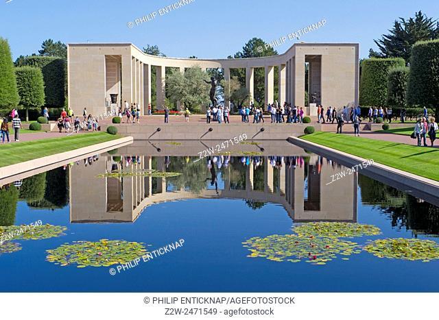 Normandy American Cemetery and Memorial, Omaha Beach