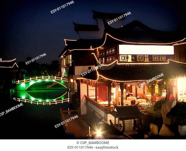 Qibao old town china