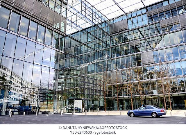 Campus Biotech - scientific center of global research in the field of neurosciences and bioengineering, Geneva, Switzerland, Europe