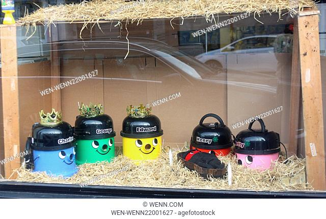 This Christmas shopkeeper Kris Sale, owner of Sale Appliances in Westcliff-on Sea, has created an unusal festive window display depicting the nativity scene