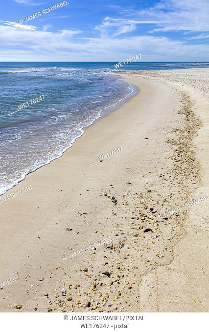 Gulf of Mexico beach on St George Island in the panhandle or Forgotten Coast area of Florida in the United States