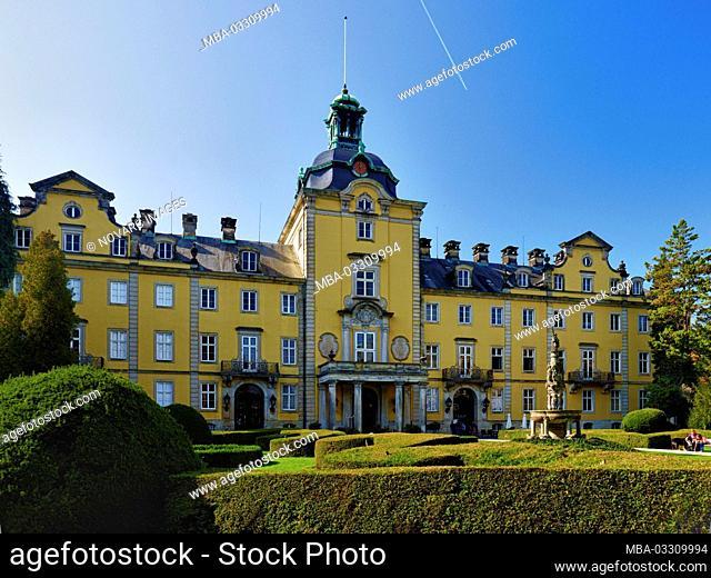 Bckeburg Castle, Bckeburg, Landkreis Schaumburg, Lower Saxony, Germany