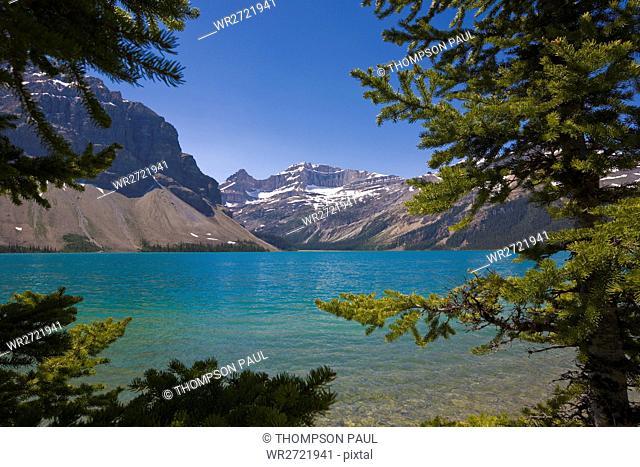 Bow Lake, Icefields Parkway, Alberta, Canada, Banf