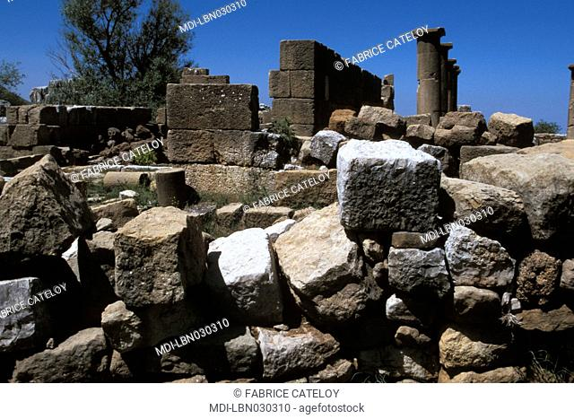 Roman religious cult - Small temple dedicated to Atargatis, Goddess of Fertility