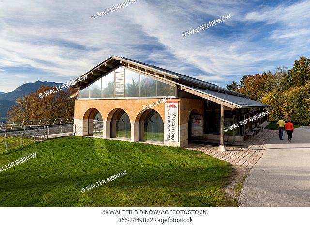 Germany, Bavaria, Obersalzberg, Dokumentation Obersalzberg, museum about the Nazi dictatorship, exterior