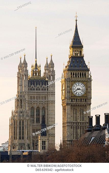Big Ben. Morning. London. England. UK