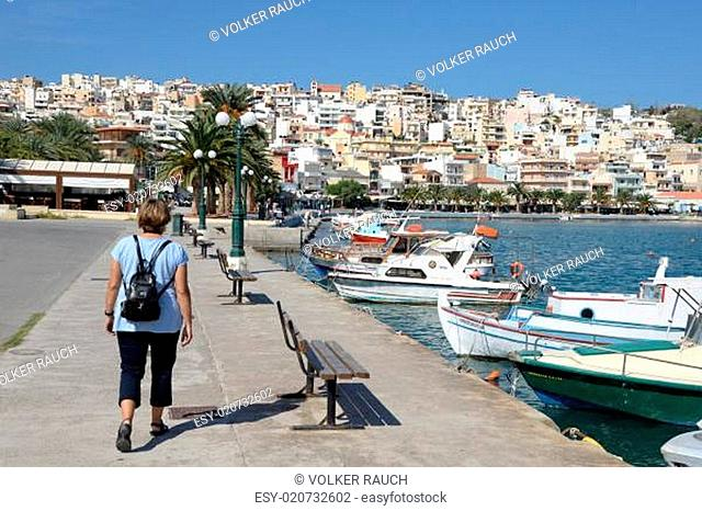 Am Hafen von Sitia, Kreta