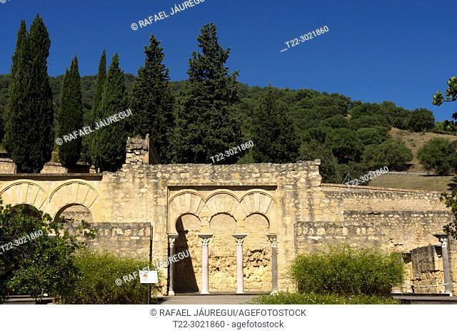 Cordoba (Spain). Basilical Superior Building of the palatine city of Medina Azahara