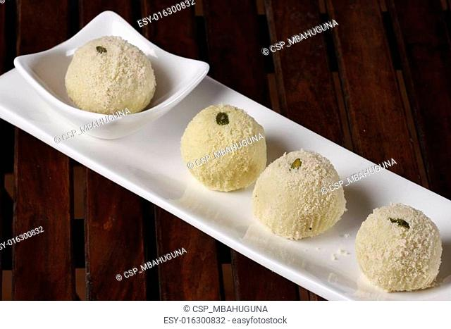 Kheer kadam is a milk-based sweet from Bengal