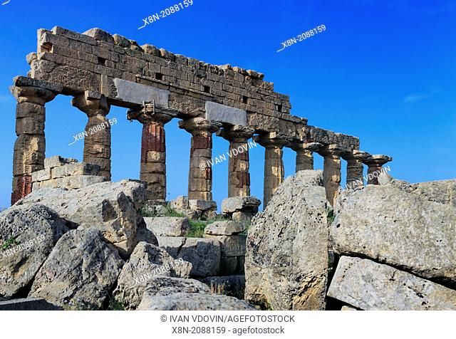 Temple C, Selinunte, Sicily, Italy